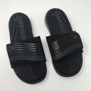 5a432cee9fd C9 by Champion Shoes - C9 Champion Men s Black Cushion Fit Slide Sandals
